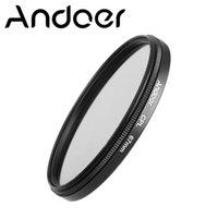 Wholesale Andoer mm Digital Slim CPL Circular Polarizer Polarizing Glass Filter for Canon Nikon Sony DSLR Camera Lens