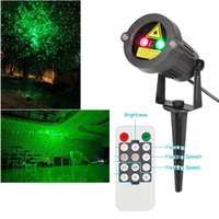Wholesale Waterproof Green Red Stage Laser Light for Garden Outdoor Tree Lawn Lamps Wall Xmas Decoration Christmas