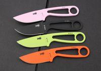 Wholesale 4 colors Randall s Adventure ESEE Izula Neck Knife Fixed blade knife EDC survival knife KNIVES with sheath