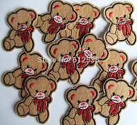 bear sew - random cute bear Embroidered sew or Iron on Patch quot x1 quot