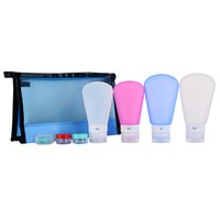Wholesale Takit Silicone Travel Bottles Container Set with Jars and Carry Bag Pack TSA Mix oz and oz