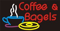 bagel shop - Custom Signage NEON SIGNS For Coffee Bagels Cakes Bread Club BAR PUB Signboard Display Decorate Store Shop Light Sign quot