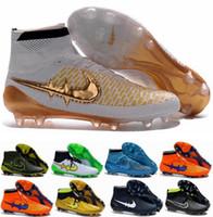 Wholesale 2016 Men Magista Obra FG with ACC Soccer Boots Cleats Laser original Men s Shoes Football Shoes Soccer Shoes Eur