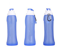 best soft drinks - Drop resistance breakage proof Strong compressive Soft silicone portable Climbing kettle water bottle Best Seller in Europe and America