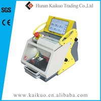 Wholesale CE SGS approved computerized duplicated key cutting machine sec e9 key code cutting machine suitable for car keys and house keys