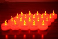Wholesale Flameless votive Electronic candle high quality round candle marriage proposal romantic candle Smoke free and tasteles