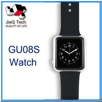 android remove - GU08S Bluetooth Smart Watch Support Altimeter Pedometer BT Remove Control Anti lost For Android IOS System VS U8 Smart Watch