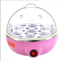 Wholesale 2016 Naughty little egg apparatus steamed egg apparatus automatically power boiled egg cup stainless steel egg machine XJD0004