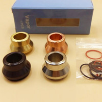 brass fitting - Hottest Vape drip tips Shooting Vape Stainless Steel Summit drip tip ss black Copper and brass Colors fit All mm RDA atomizers DHL fre