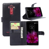 Cheap Luxury High Quality Wallet Leather Case for LG G Flex 2 Flip Cover with Credit Holder Phone Stander