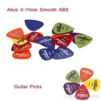 Wholesale Guitar Parts Accessories Guitar Picks Guitar Plectrums Alice AP P mm Smooth ABS Design Picks set