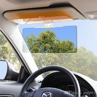 Wholesale 2016 NEW Day and Night Visor Car Sun Visor HD Vision Visor Anti Dazzle Mirror Clear View for Driver Auto Accessories