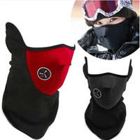 Wholesale Outdoor Cycling mask windproof Cool ride bike mask winter Warm Dust Proof anti fog half face CS mask motorcycle ski sport masks