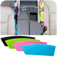 Wholesale 2016 Storage Box Plastic Car pouc Trash box compressible car seat Car trash debris storage box glove box Caught debris storage bag A0159