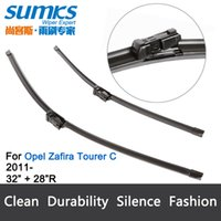 Wholesale Wiper blades for Opel Zafira Tourer C from onwards quot quot R fit push button type wiper arms only HY
