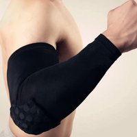 baseball glove padding - Basketball volleyball Sport Elbow Pads To Reduce Sports Injury color Black White