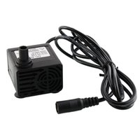 Wholesale NEW Ultra quiet Mini DC V Brushless Motor Submersible Water Pump L H Super hours Water Circulating