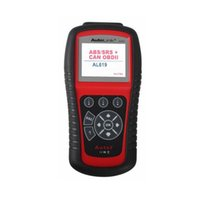Suzuki English Works on ALL 1996 and newer vehicles Original Autel Autolink AL619 ABS SRS + CAN OBDII AL 619 Diagnostic Scan Tool Turn off Check Engine Light clears codes resets monitors