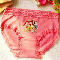 Wholesale Baby Girls Briefs Fashion Boxer Underwear Kids Cute Cartoon Panties Children Soft Cotton Children Girls Panties