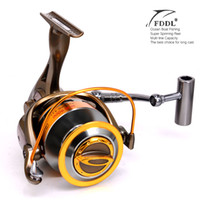 aluminum wire spool - Superior Full Metal BB Series Spinning Fisihng Reels Big Long Shot Casting Fly Sea Wire Cup Wheels Aluminum Spool