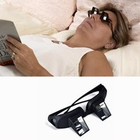 Wholesale 10pcs LJJG178 The Lazy Glasses Lazy Creative Glasses Periscope Horizontal Reading TV Sit View Glasses On Bed Lie Down Prism Spectacles