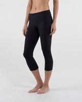 al por mayor polainas de yoga para las mujeres-Cosecha al por mayor del tamaño 2-12 LULU con las mujeres de la aptitud de las medias de las medias de las polainas de los pantalones elásticos de la yoga de la insignia Pantalones de las mujeres