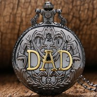 Wholesale 2016 Fashion Dad Pocket Watch for Father Dady Father s Day Gift P359