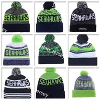 american linens - 2017 Seahawks Beanies Winter High Quality Beanie For Men beanie American Football Women Skull Caps On Field Skullies Knit Cotton Hats