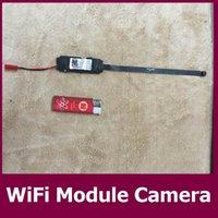 Acheter Caméra pour la sécurité cctv-Caméra Module WIFI Temper-proof enregistreur caché antenne Full HD 1080P Mini DV Video Home Security CCTV Cam Video Numérique