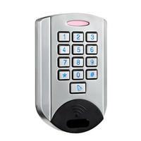 access control keypads - IP68 Waterproof Metal Shell Durable Standalone Proximity Card Access Control Keypad F1626D