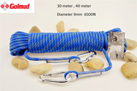 Wholesale 30M M Outdoor Survival Paracord Climbing Rope Cord String Safety Lifeline Escape Diameter mm N For Mountaineering