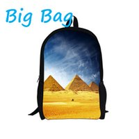 architecture schools - 2016 Fashion Cool World Architecture Bag D Printing Building School Knapsack For Teenager Backpack For Children s Xmas Gifts