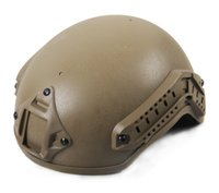 Wholesale New Arrival Tactical Helmet w NVG Mount And Side Rail For Hunting Use CL9