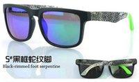 Precio de Snake skin-Serpiente 50p gafas de sol libres de la promoción de Ken Block timón ciclo de los deportes al aire libre gafas de sol de la marca de fábrica Negro piel de serpiente óptica barato ÓPTICA HELM Ken Block