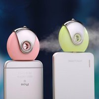 Wholesale 2016 NEW HOT Nano Facial Sauna Steamer Handy Mister USB Mini Nebulizer Hydration Sprayer FOR IPHONE PLUS ALL PHONE