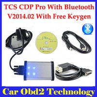 Wholesale 2014 R2 keygen TCS CDP PRO PLUS With bluetooth TCS CDP Pro for Cars Trucks Generic in
