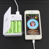 aa battery emergency charger - New Powerbank Portable X AA Battery Travel Emergency USB Power Bank Charger for Mobile Phone Hgih Quanlity