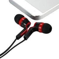 Wholesale Amazing Sound Mobile Computer MP3 Universal In ear Earphones Binaural Stereo Headset mm Audio Plug Hifi Music Earphone