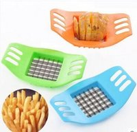 Wholesale Potato Chips Cutter Mashers Tool CE EU ECO Friendly Stainless Steel Vegetable Slicer Ricers for Kitchen Cooking