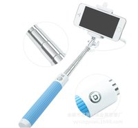 android camera button - Camera Monopods Wired Control Button Monopod Extendable Handheld Selfie Stick Cell Phone Clip Holder universal For iPhone Samsung android