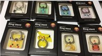 Wholesale Poke Mon Go Cute Cat Phone ring For iPhone s Case Transparent Phone Cover For iPhone s Case