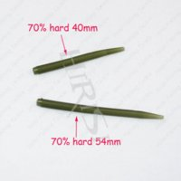 Wholesale 100pcs New cheap price fishing accessories fishing anti tangle sleeves connect with hook for carp fishing tackle