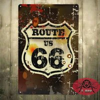 auto routes - TIN SIGN US Route Metal Decor Wall Art Auto Shop Garage D