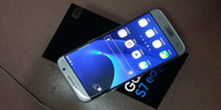 Goofón s7 borde clonar teléfono Android 6.0 smartphone 5.5 pulgadas 64bit Quad núcleo MTK6580 teléfonos celulares reales 1GB RAM 4GB ROM show 32GB 4G falso Lte