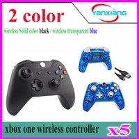 Precio de Xbox dual-5pcs DHL nuevo controlador de Bluetooth para Xbox una palanca de mando sin hilos de la vibración dual Gamepad para Microsoft Xbox One YX-one-01