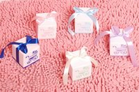 Wholesale Baby Carriage Candy Boxes Wedding Favor Baby Day Out Candy Boxes Baby Shower Boxes