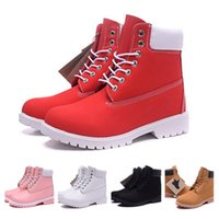 beige glitter heels - Top quality Ankle Boots Leather Brand Winter Snow Boots Women Outdoor Boots High top Cow Leather Shoes Hiking Shoes Fast Shipping