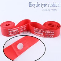 bicycle tire width - Bicycle tyre cushion The inner rim pad inch C MTB Road bike Fixed Gear Track Bike PVC Tyre cushion Width MM