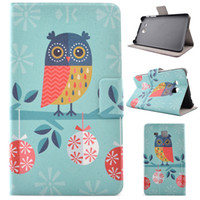 Wholesale Samsung Galaxy Tab T230 T280 T111 T330 Tab A T350 Tab S2 T715 Print PU leather case smart cover