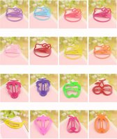 asian delivery - hair jewelry New Fashion Multicolor Candy Color Painted Cute Alloy Fruit Children Hair Clips Barrettes Mix Order Random Delivery SHR076